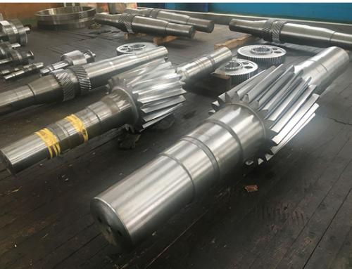 Spline Pinion Gear Shaft for mining machinery