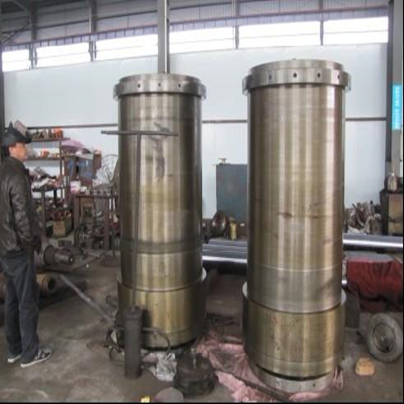 Hydraulic cylinder, is a kind of output force and effective area of the piston and the pressure difference between the two sides is proportional to the linear motion of the executive element